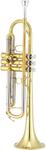Jupiter JTR1100Q 1100 Series Bb Trumpet (Laqured Yellow Brass)