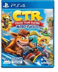 Crash Team Racing Nitro Fueled (PS4) - Cover