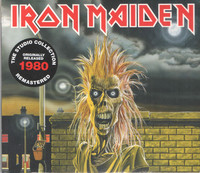 Iron Maiden - Iron Maiden (CD) - Cover
