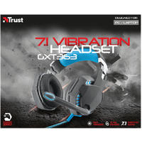Trust - GXT 363 Hawk 7.1 Bass Vibration Headset (PC/Gaming)