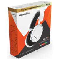SteelSeries Gaming Headset - Arctis 3 - 2019 Edition - White (PC/Gaming)