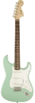 Squier Affinity Series Stratocaster Electric Guitar (Surf Green)