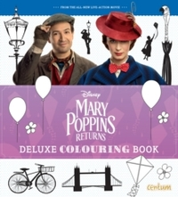 Mary Poppins Returns:Deluxe Colouring Book - Centum Books Ltd (Paperback) - Cover