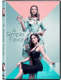 A Simple Favor (DVD) - Cover