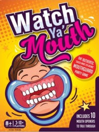 Watch Ya Mouth (Card Game) - Cover