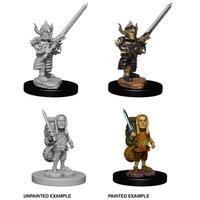 Dungeons & Dragons: Nolzur's Marvelous Unpainted Miniatures - Male Halfling Fighter (Miniatures)