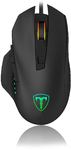 T-Dagger Warrant-Officer 4800 DPI Gaming Mouse with RGB backlighting - Black/Red