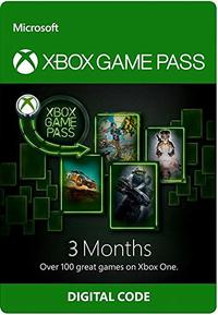 Xbox Game Pass 3 Month Membership (Xbox One) - Cover