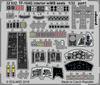 Eduard - Photoetch: 1/32 - TF-104G Interior w/ MB Seats (Italeri) (Plastic Model Kit Add-On)