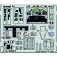 Eduard - Photoetch (Zoom): 1/72 - B-52G (Model Collect) (Plastic Model Kit Add-On)