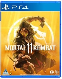 Mortal Kombat 11 (PS4) - Cover