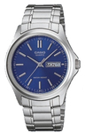 Casio Analogue Mens Wrist Watch - Silver and Blue