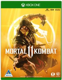 Mortal Kombat 11 (Xbox One) - Cover