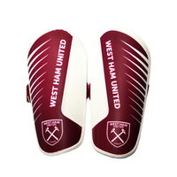 West Ham United F.C. - Slip In Shinguards - Boys (X-Small) - Cover