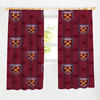 West Ham United F.C. - Old Vs New Crest Curtains - 72 inch