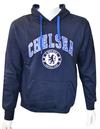 Chelsea - Navy Crest Mens Hoody (Large)