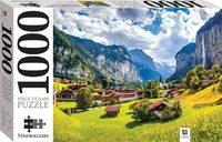 Lauterbrunnen, Switzerland Puzzle - Mindbogglers (1000 Pieces)