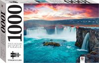 Godafoss Waterfall, Iceland Puzzle - Mindbogglers (1000 Pieces)