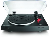 Audio Technica AT-LP3 Fully Automatic Belt-Drive Turntable (Black) - Cover
