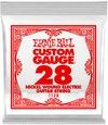 Ernie Ball 1128 .028 Nickel Wound Electric Guitar Single String