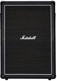 Marshall MX212A 160 watt 2x12 Inch Angled Electric Guitar Amplifier Cabinet (Black) - Cover
