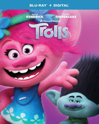 Trolls (Region A Blu-ray) - Cover