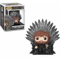 Funko Pop! Deluxe - Game of Thrones - Tyrion Lannister Sitting On Iron Throne