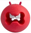 Rogz - Fred Medium Treat Ball For Dogs (Red)