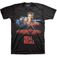 Studio Canal Total Recall Men's Black T-Shirt (Large)