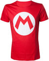 Nintendo - Mario Big M - Mens T-Shirt (Medium)