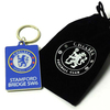 Chelsea - Stamford Bridge Keyring In Velvet Gift Bag