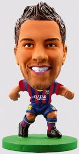Soccerstarz - Barcelona Jordi Alba - Home Kit (2014 version) Figures - Cover