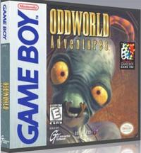 Oddworld Adventures (US Import GBA) - Cover