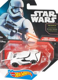 Hot Wheels - Star Wars First Order Stormtrooper Vehicle - Cover