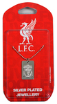 Liverpool - Silver Plated Dog Tag and Chain