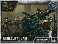 The Other Side - King's Empire: Artillery Team (Miniatures) - Cover