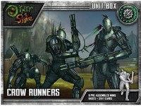 The Other Side - Abyssinia: Crow Runners (Miniatures) - Cover