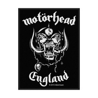 Motorhead England Sew On Patch - Cover