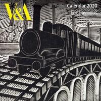 V&a - Eric Ravilious 2020 Calendar - Flame Tree Studio (Calendar) - Cover