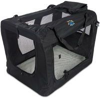 Cosmic Pets - Collapsible Carrier XXXX-Large (Black) - Cover