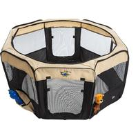 Cosmic Pets - Collapsible Pet Pen Medium (Black)