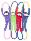 Zippy Paws - Monkey RopeTugz Dog Toy (Red)
