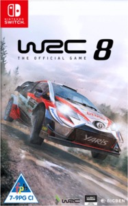 World Rally Championship 8 (Nintendo Switch) - Cover