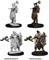 Dungeons & Dragons - Nolzur's Marvelous Unpainted Miniatures - Female Halforc Barbarian (Miniatures)