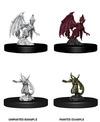 Dungeons & Dragons - Nolzur's Marvelous Unpainted Miniatures - Quasit & Imp (Miniatures)