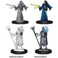 Dungeons & Dragons - Nolzur's Marvelous Unpainted Miniatures - Male Elf Wizard (Miniatures)