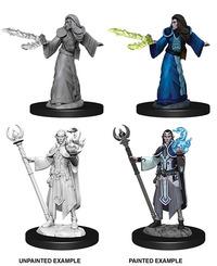 Dungeons & Dragons - Nolzur's Marvelous Unpainted Miniatures - Male Elf Wizard (Miniatures) - Cover