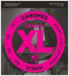 D'Addario ECB81M XL Chromes 45-100 Light Medium Scale Stainless Steel Flat Wound Bass Guitar Strings (Opened Set)