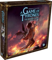 A Game of Thrones: The Board Game (Second Edition) - Mother of Dragons Expansion (Board Game) - Cover
