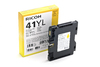 Ricoh - GC41YL Yellow Low Yield Ink Cartridge 600 Pages